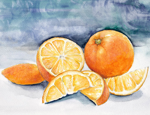 oranges by debra morris
