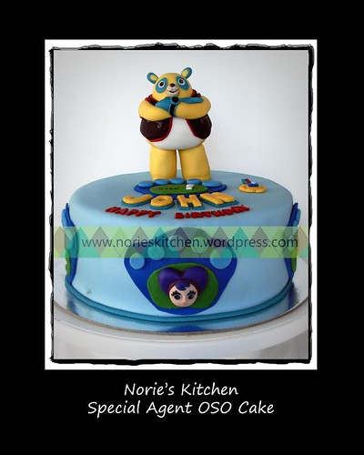 Norie's Kitchen - Special Agent OSO Cake with Paw Pilot