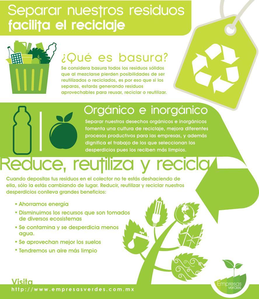 Reduce, reutiliza y recicla