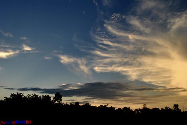 awan 'ekor kyubi'