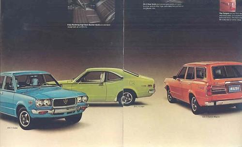 1973 Mazda Brochure page 3