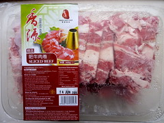 Beef for hotpot