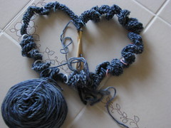 Silky Malabrigo in progress