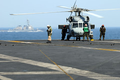 Sea Hawk prepares to depart USS Ronald Reagan ...