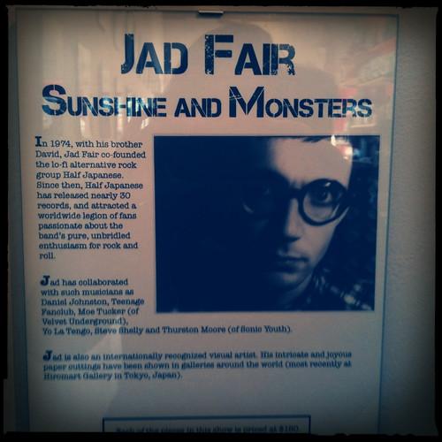 Jad Fair @ BLAST Gallery