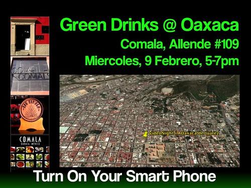 Green Drinks in Oaxaca