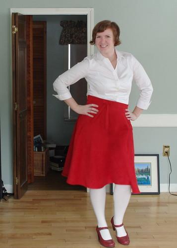 Valentine' Day Skirt