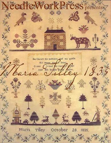 NeedleWork Pres Maria Tilley 1835