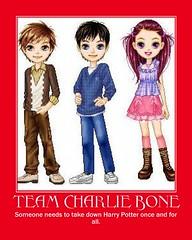 Charlie Bone motivational poster