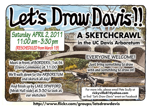 let's draw davis: rescheduled for two weeks