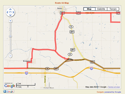 Website shows Route 66 alignments on Google Maps - Route 66 News