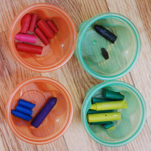 Recycling Broken Crayons (2/6)