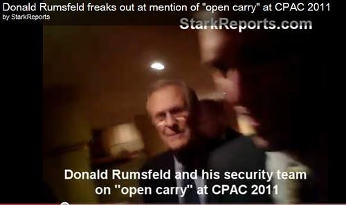 Rumsfeld at CPAC
