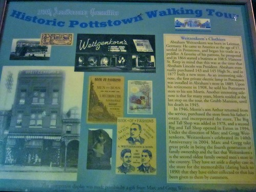 Historic Pottstown Walking Tour