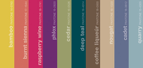 Pantone Fall 2011 Menswear Color Trend