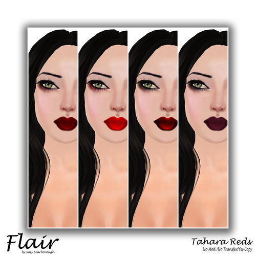 Flair - Tahara Red Pic