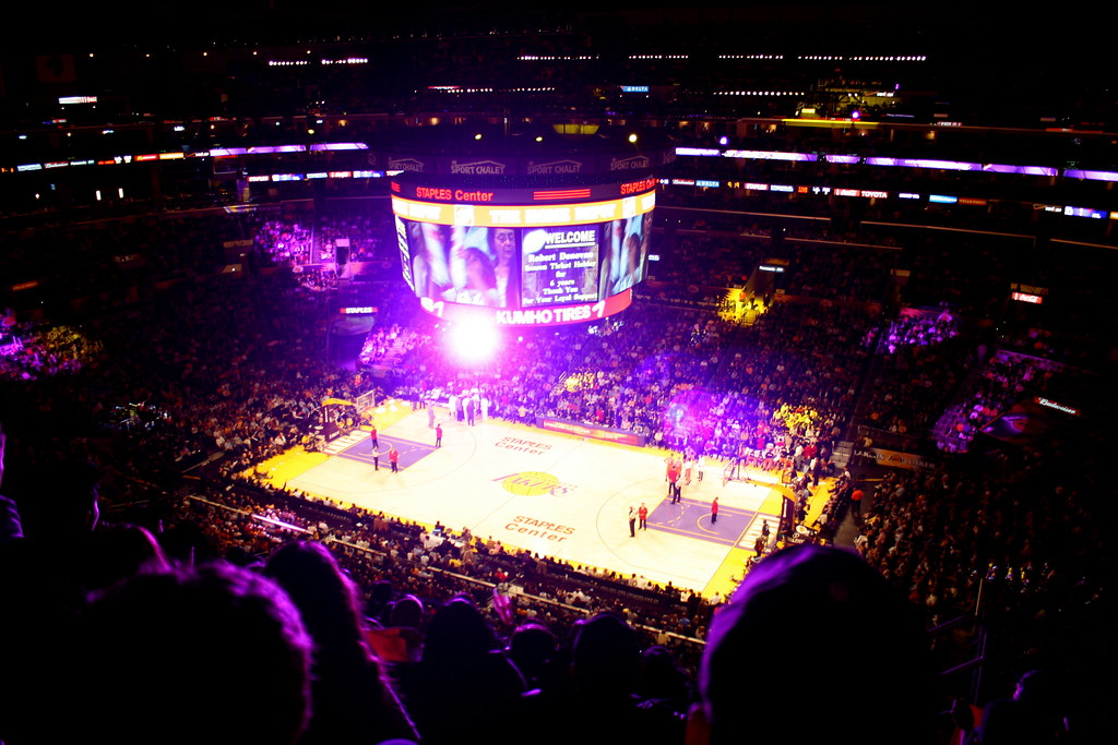 Inside Staples Center