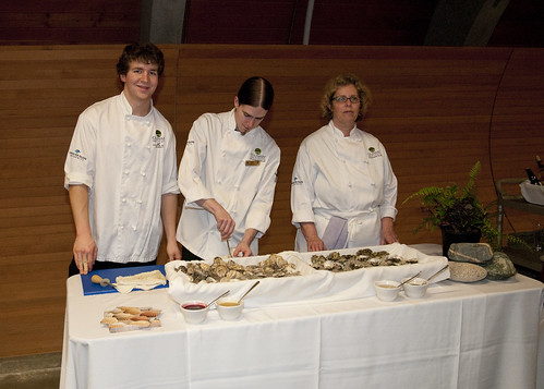 Culinary Students - oyster bar
