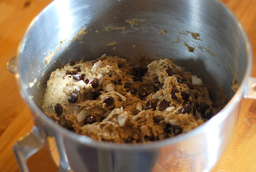 Happy Thing: Chocolate Chip Coconut Cookie Dough