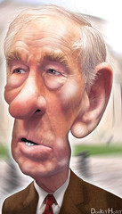 Ron Paul - Caricature