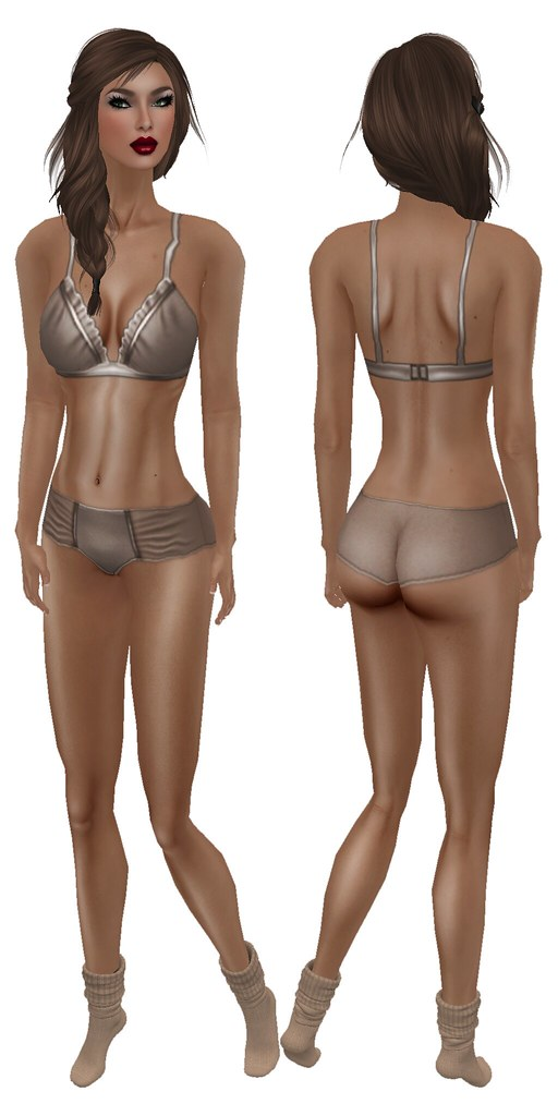 Glam Affair Mary Full Bodyshot Front and Back