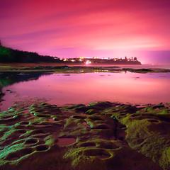 Shelly Beach - night