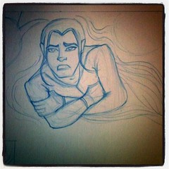 Chip, The Shapeshifter. Character from Dreamwalker. Drawing a massive amount of pages today! by Dreamwalker37