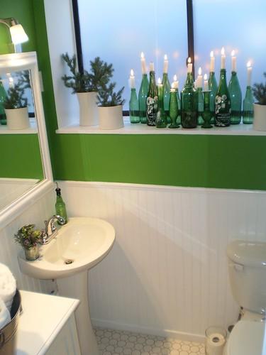 AFTER:  bathroom reno