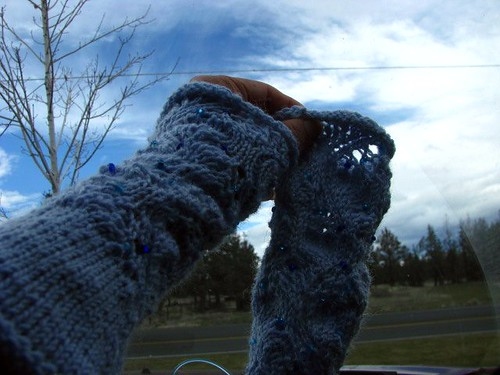 Star Gazing Test Knit Sleeves