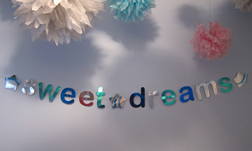 Sweet Dreams Message Bunting