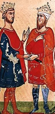 Frederick II and Al-Kamil_Muhammad_al-Malik
