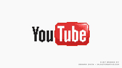 8-bit YouTube Logo