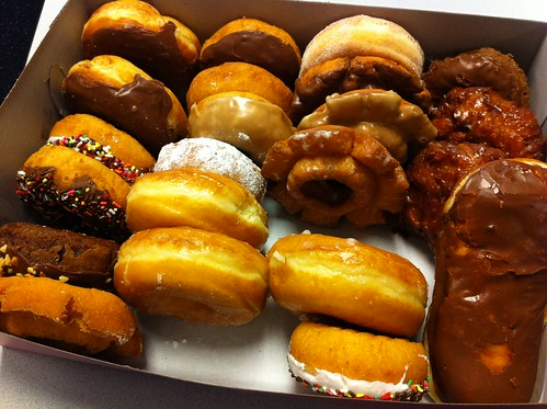 Launch Donuts @ FlickrHQ