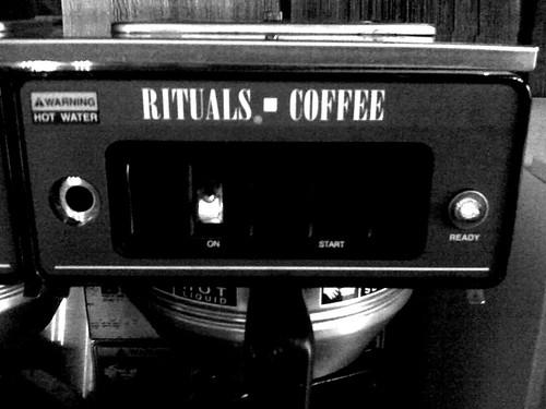 Rituals + Coffee