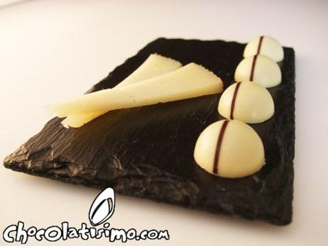 Bombón para acompañar a un queso 2011