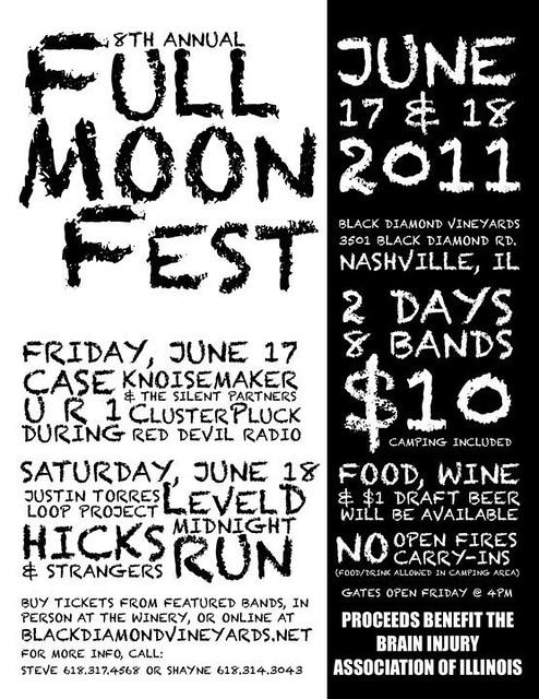 Full Moon Fest 6-17, 6-18-11