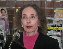 Joyce Carol Oates @ The Belmont Library