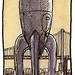 sketchcrawl31 raygun gothic rocketship