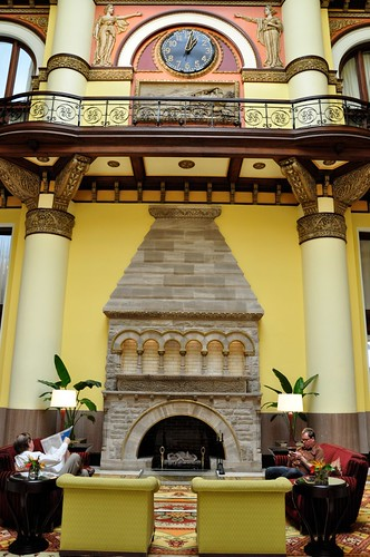 Union Station Nashville TN Fireplace
