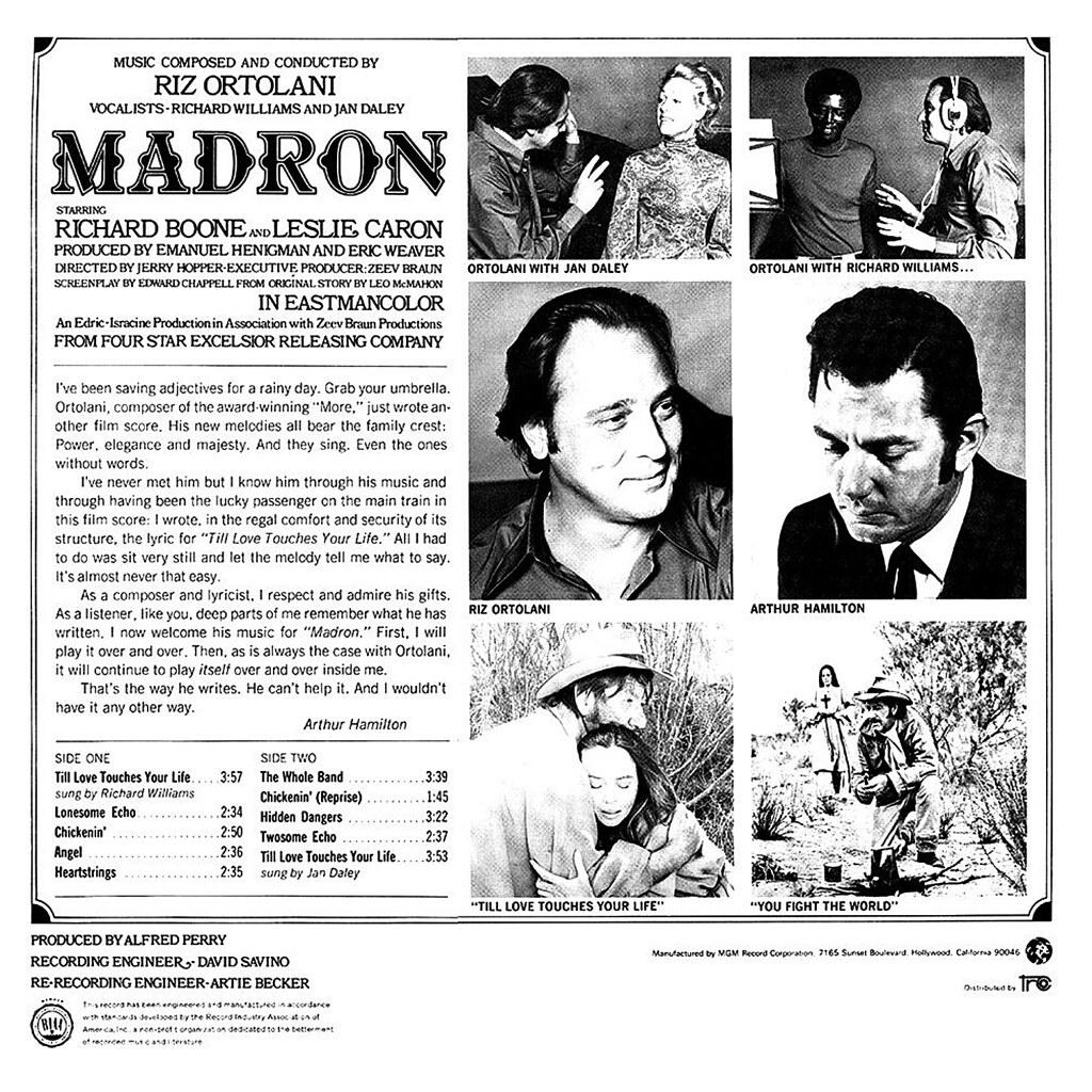 Riz Ortolani - Madron