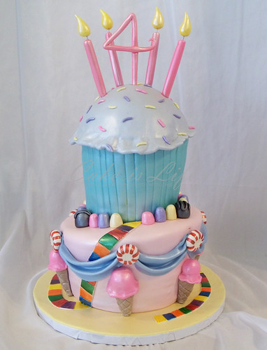 Candy Land Birthday Cake