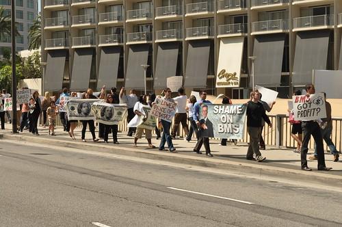 Bristol-Myers Squibb Protest
