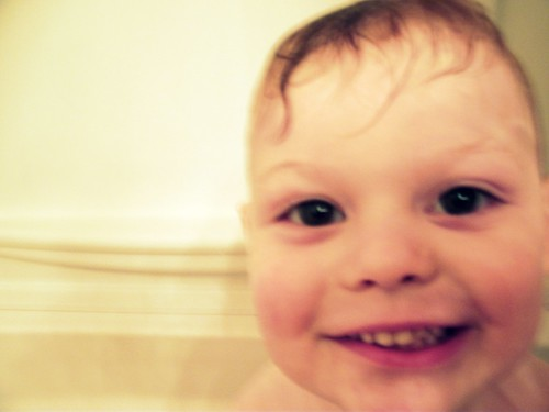 Bath Time Smile