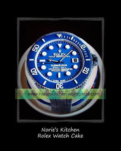 Norie's Kitchen - Rolex Watch Cake