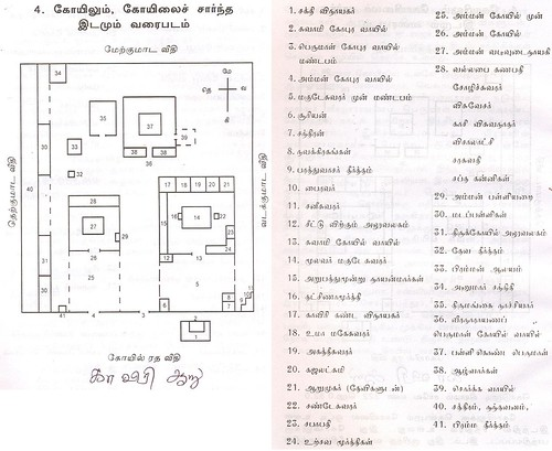 Kodumudi Temple map