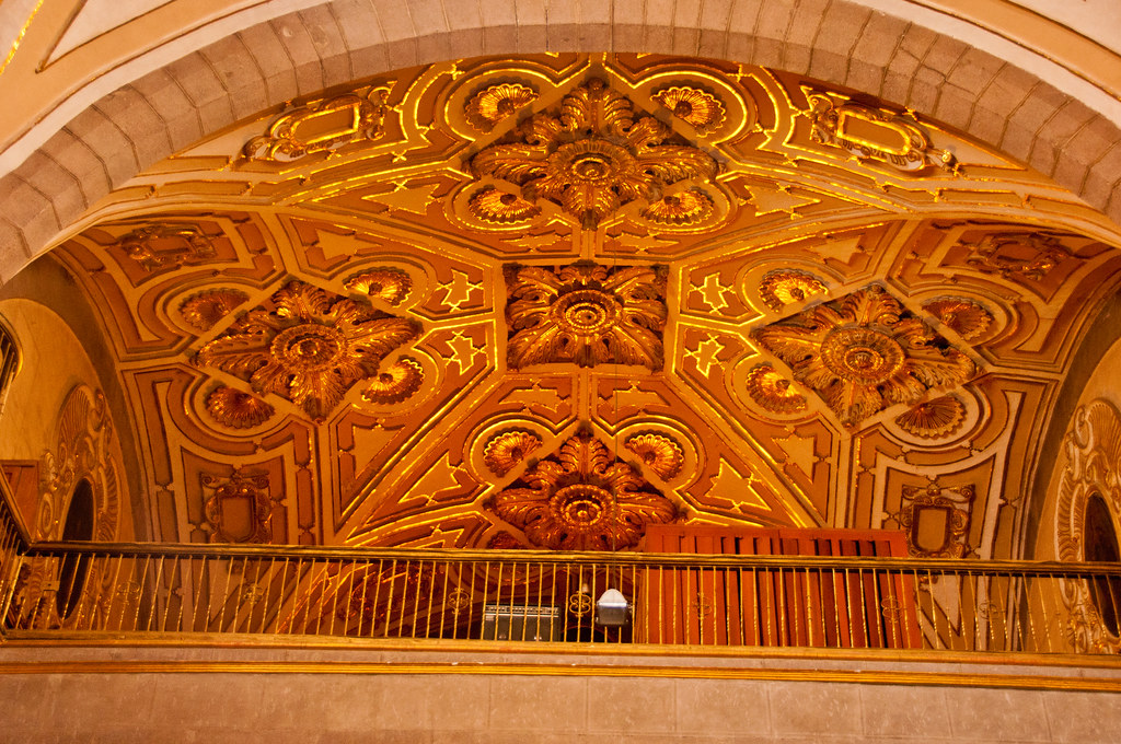 Part of the roof of Santo Domingo