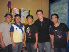 Em Bagual, James Beltran, Efren Peñaflorida Jr, Andrew Wolff and Ederic Eder
