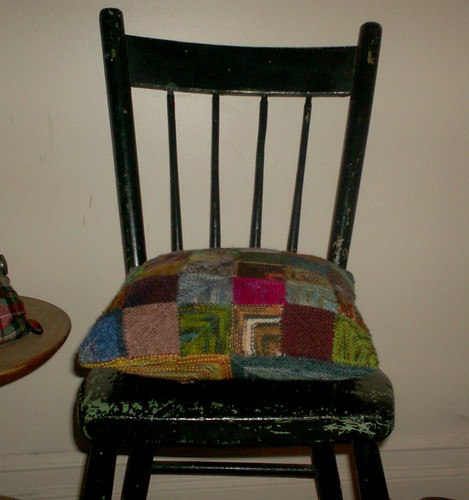 Patchwork Cushion - complete