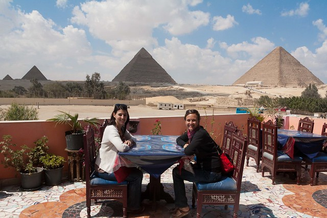 lunch at the pyramids
