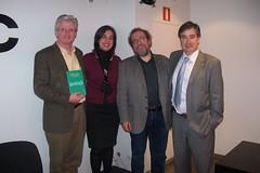 Presentación de 'La mirada del bosque' en Bilbao